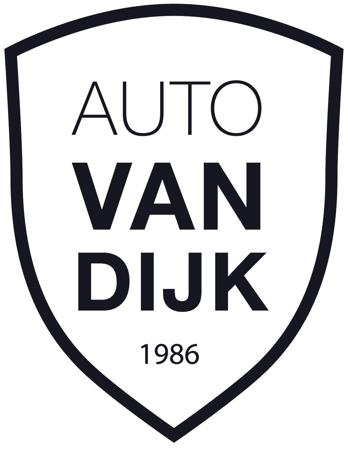 logo van dijk + schild + randje